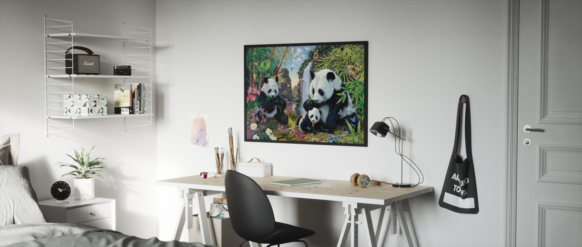 Panda Valley - Poster - Kids Room