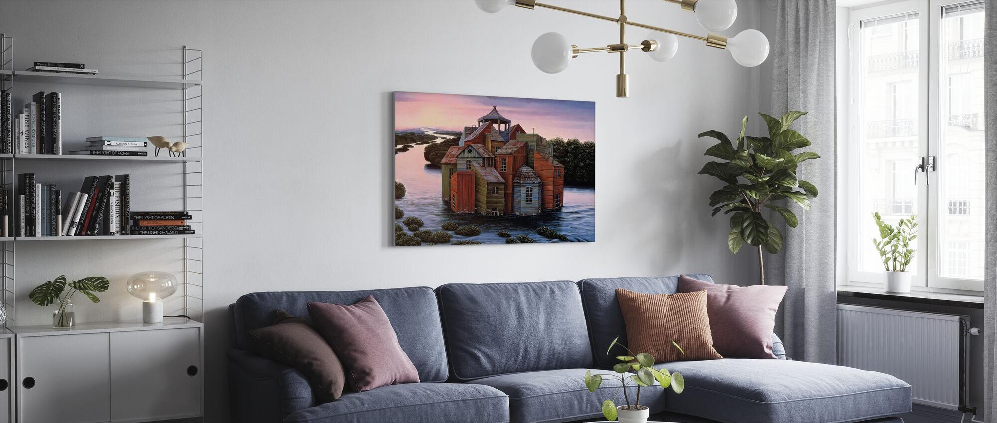 Fallingwater Landgoed - Canvas print - Woonkamer