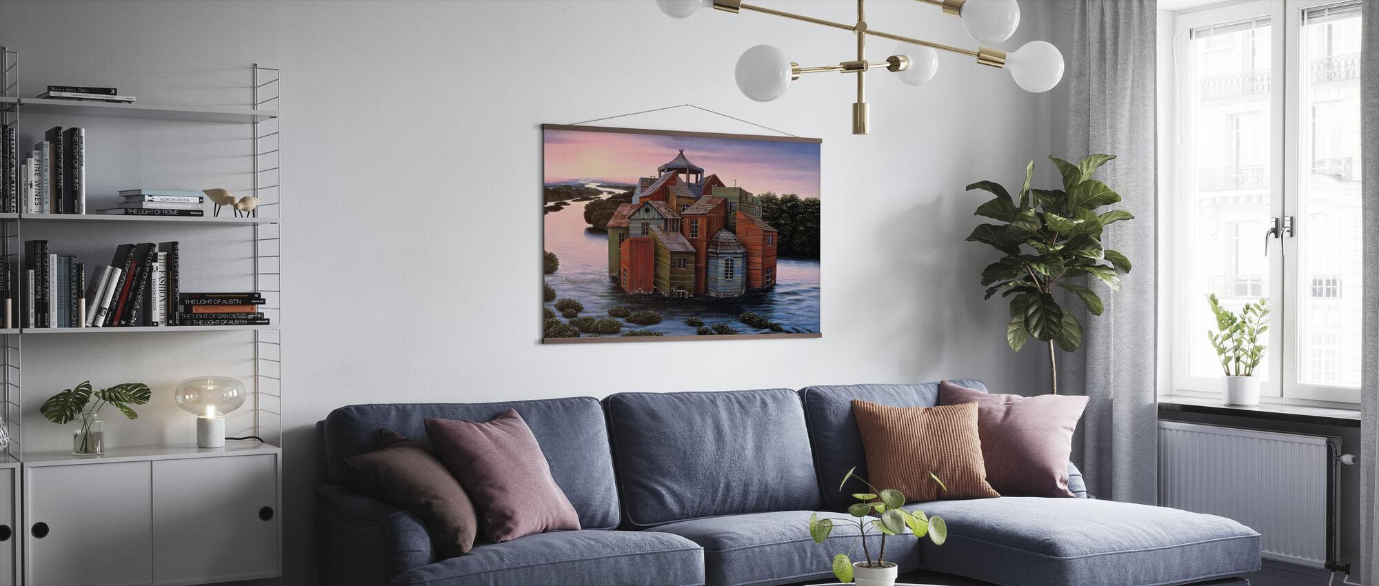 Fallingwater Estate - Poster - Living Room