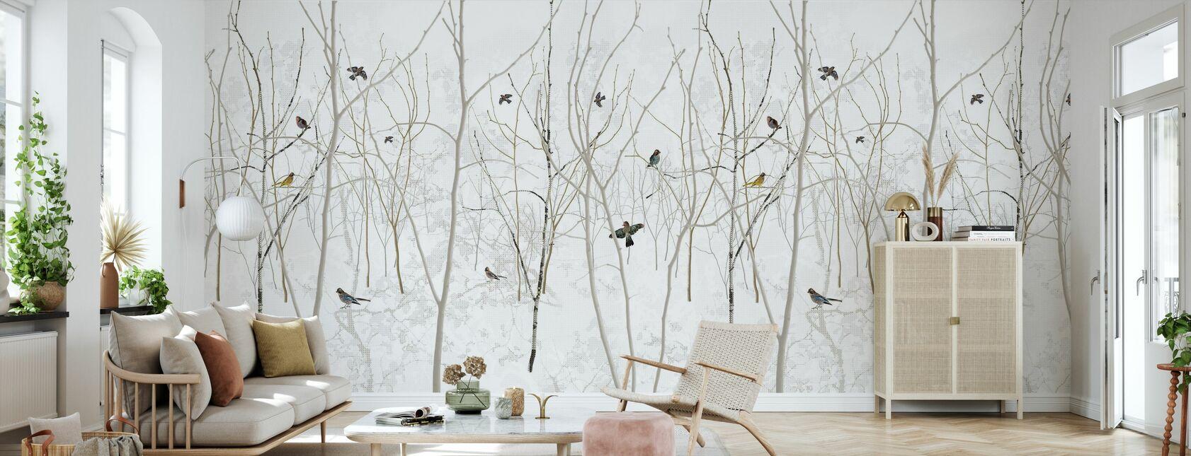 Pattern Jay - Wallpaper - Living Room