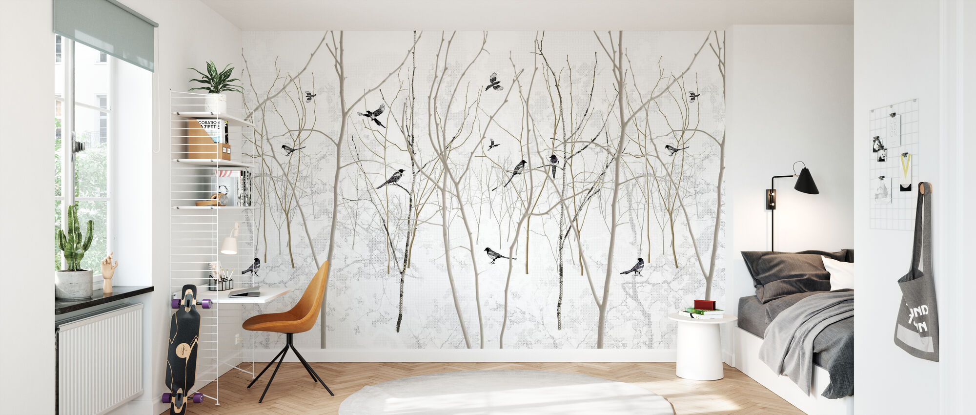 Pattern Magpie - Wallpaper - Kids Room