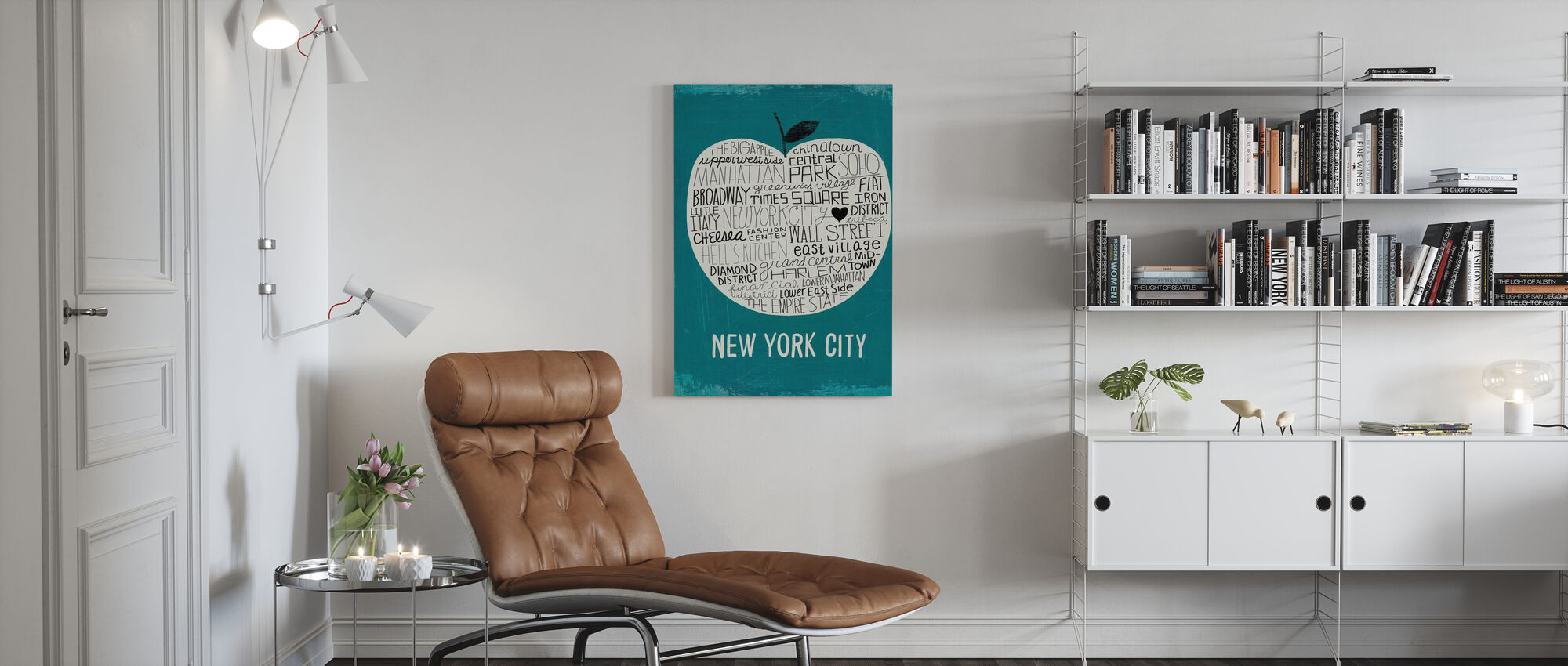Mullan - Big Apple - Canvas print - Living Room