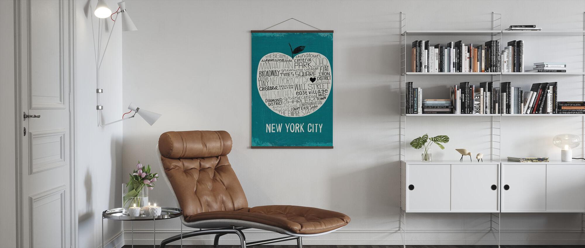 Mullan - Großer Apfel - Poster - Wohnzimmer