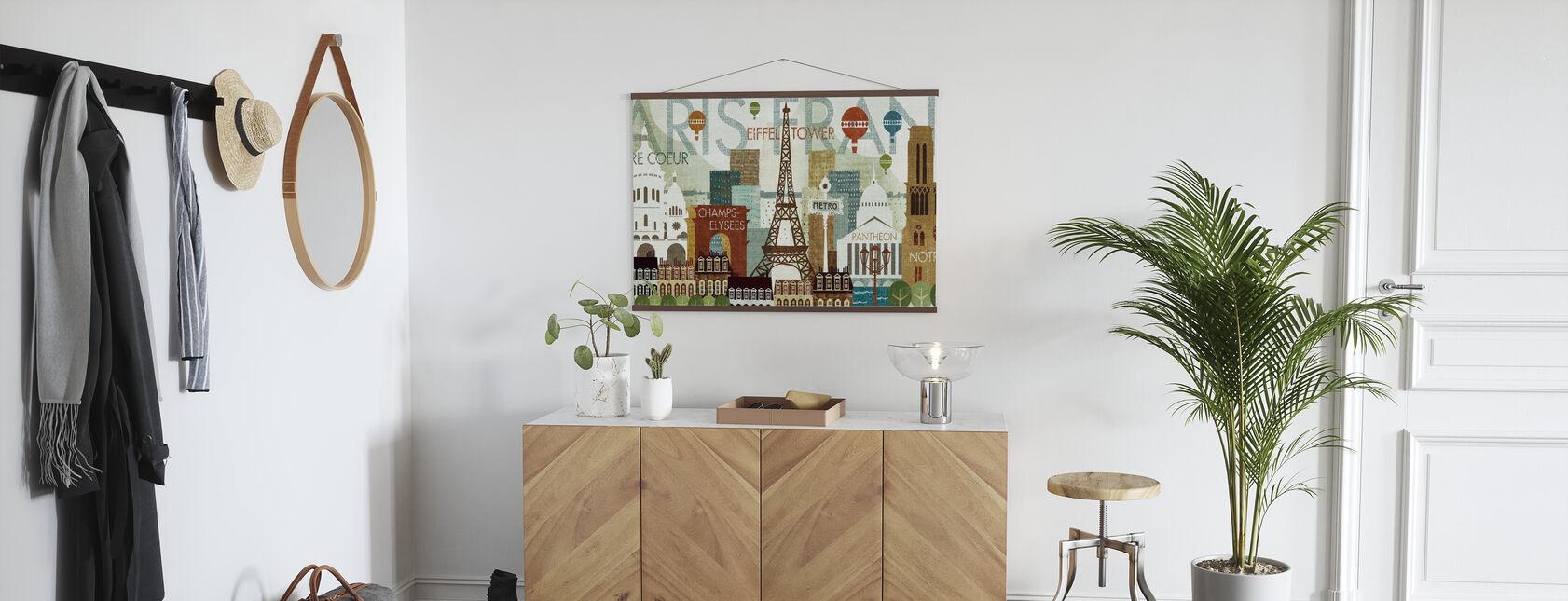 Hello Paris - Poster - Hallway
