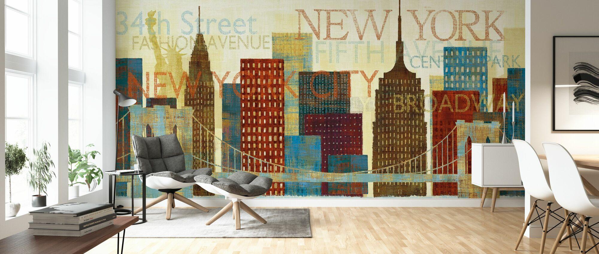 Hey New York - Wallpaper - Living Room