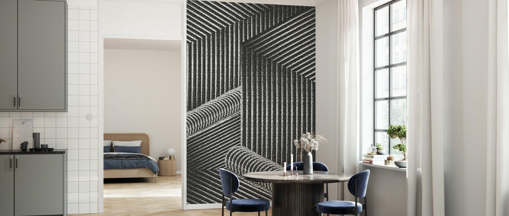 Waterfall - Wallpaper - Kitchen
