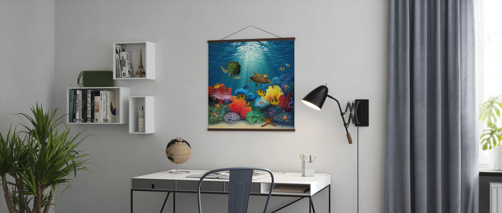Coral Sea - Poster - Office