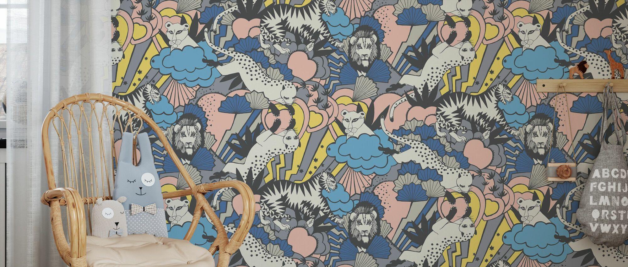 Jungle Love - Wallpaper - Kids Room
