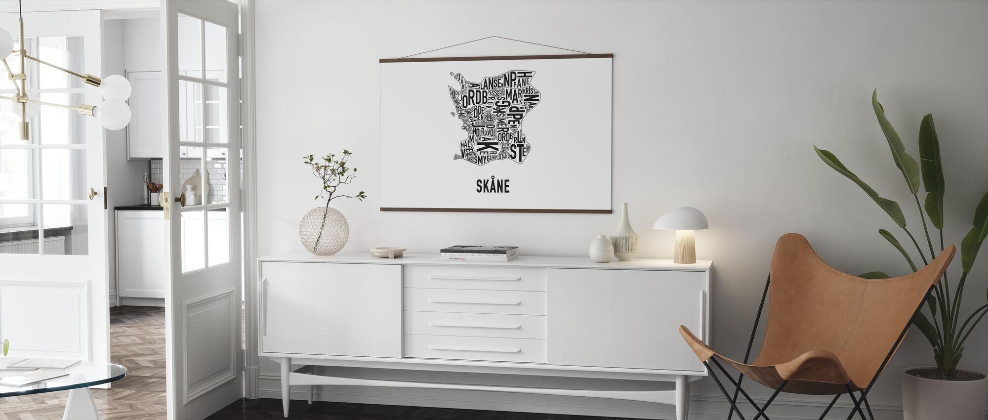 Skåne - Poster - Living Room