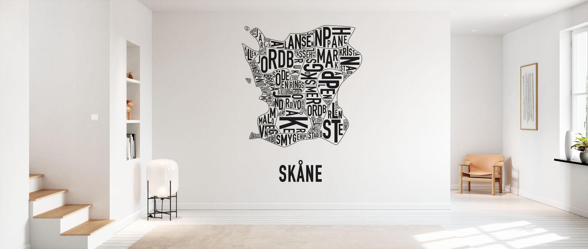 Skåne - Papier peint - Entrée