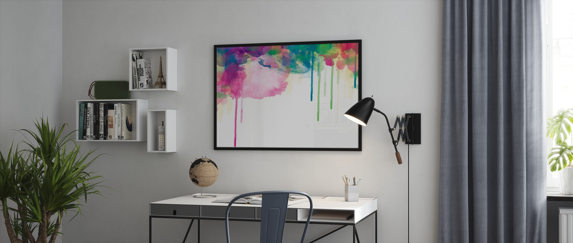 Colour Drips - Poster - Office