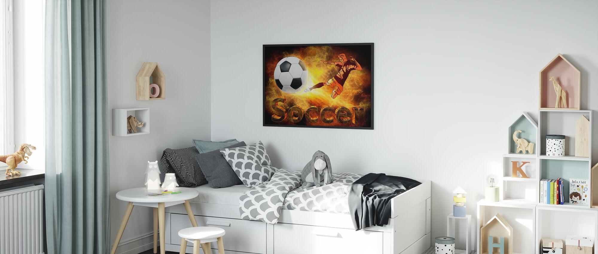 Out of this World - Framed print - Kids Room