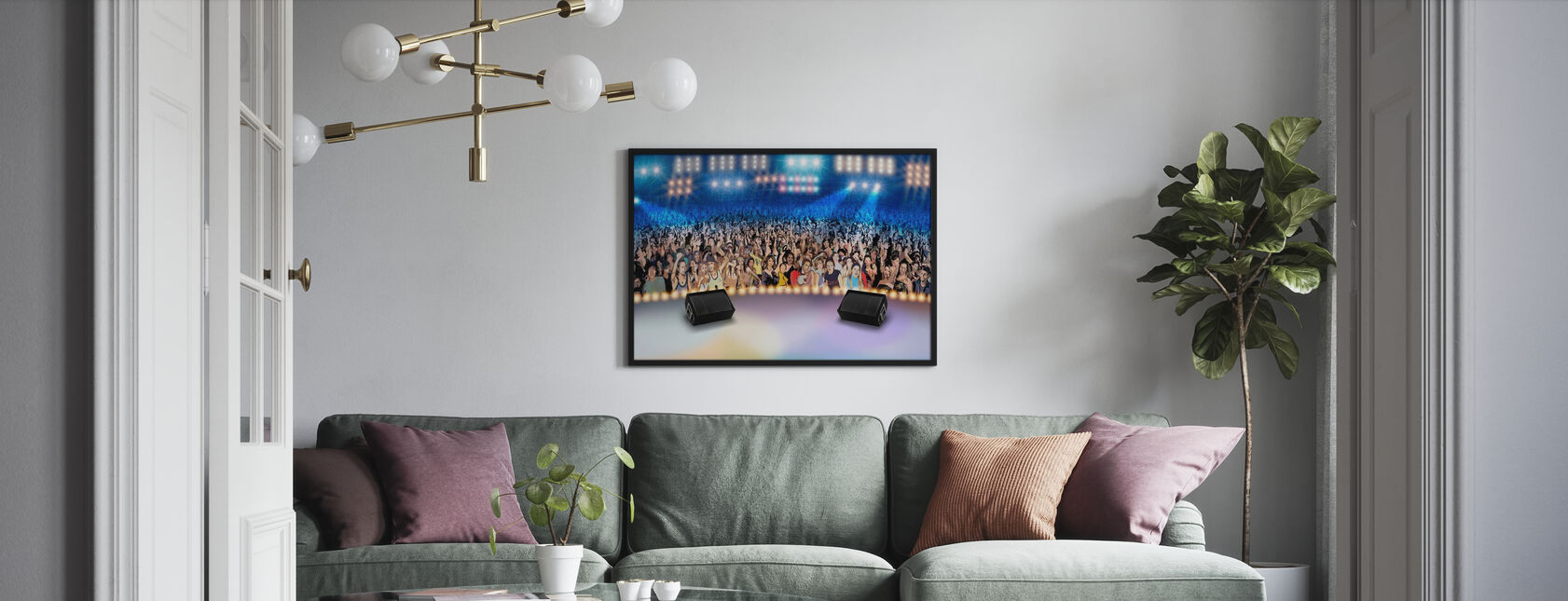 On Stage - Poster - Living Room