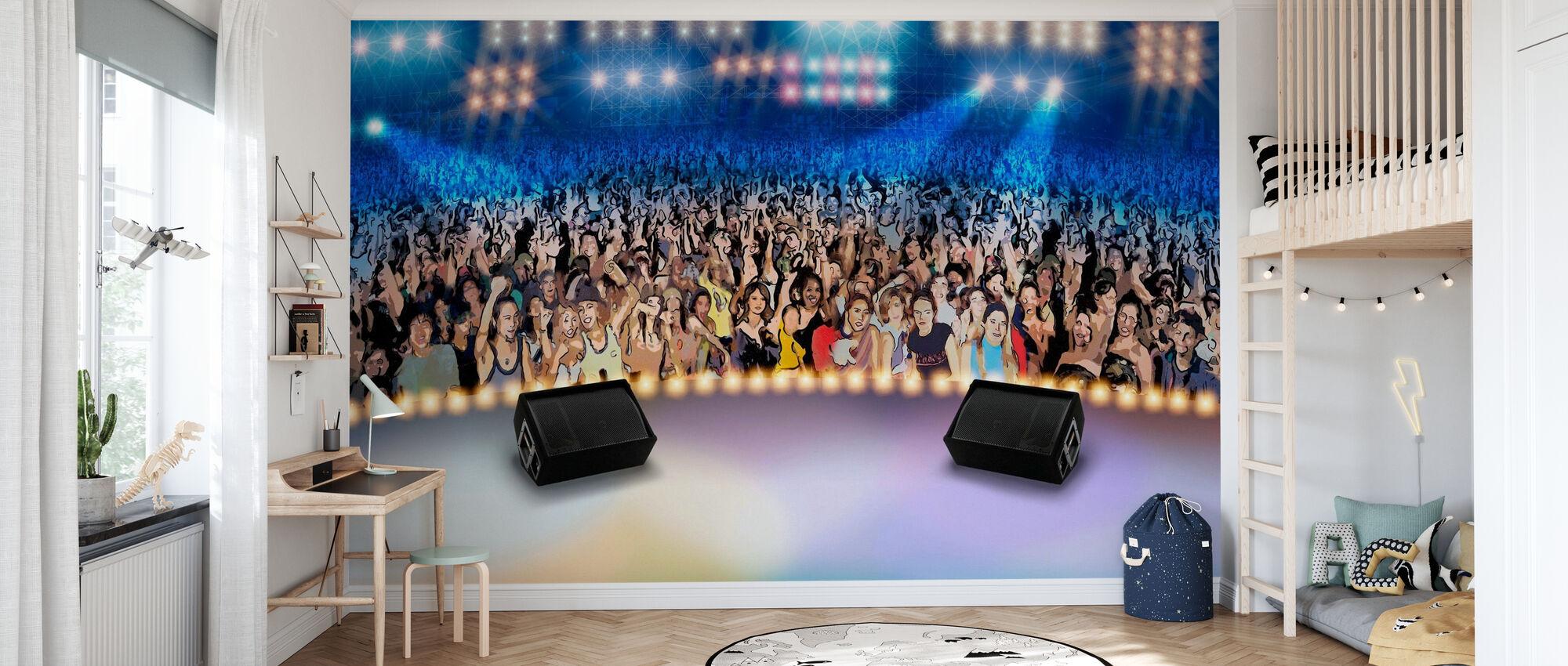 On Stage - Wallpaper - Kids Room