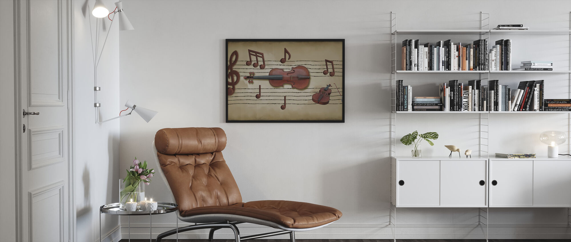 Making Notes - Poster - Living Room