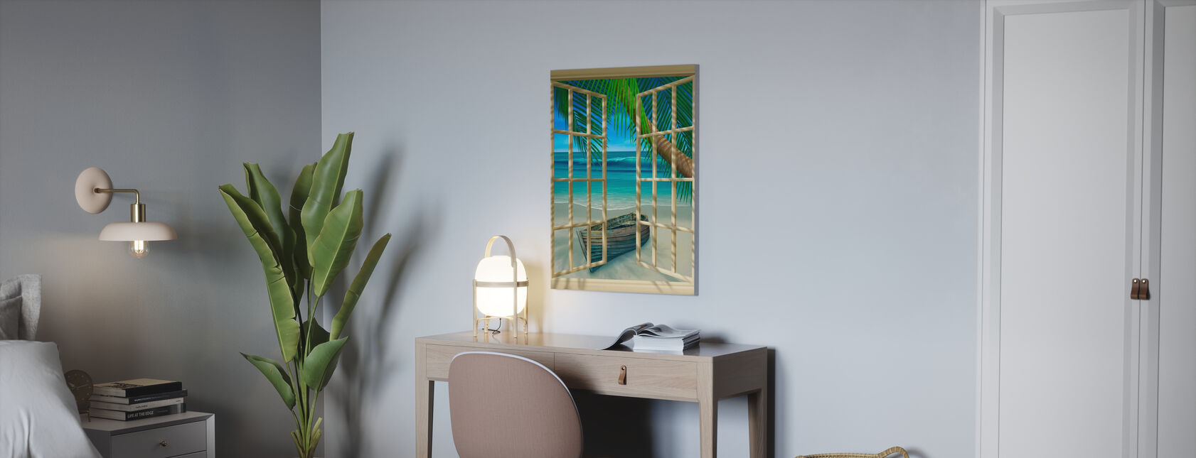 Tropical Moment - Canvas print - Office