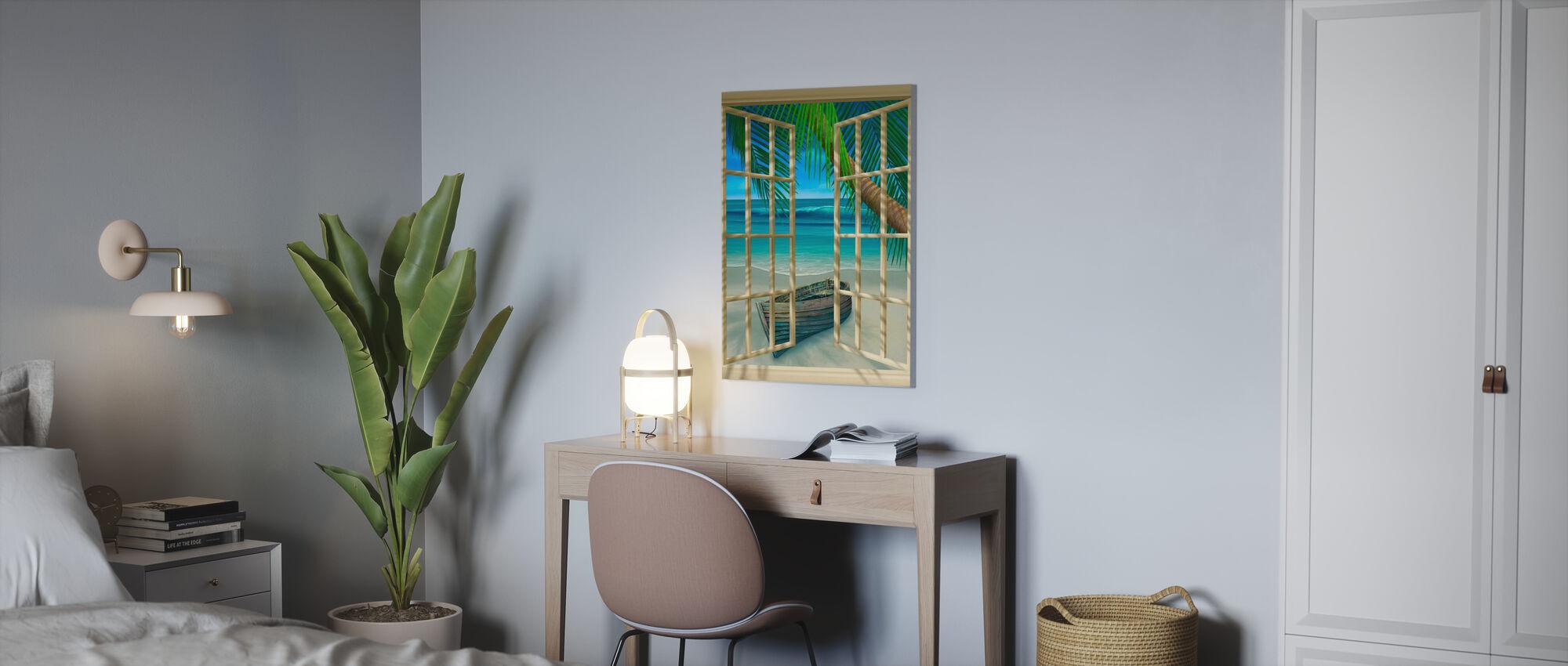 Tropisch moment - Canvas print - Kantoor