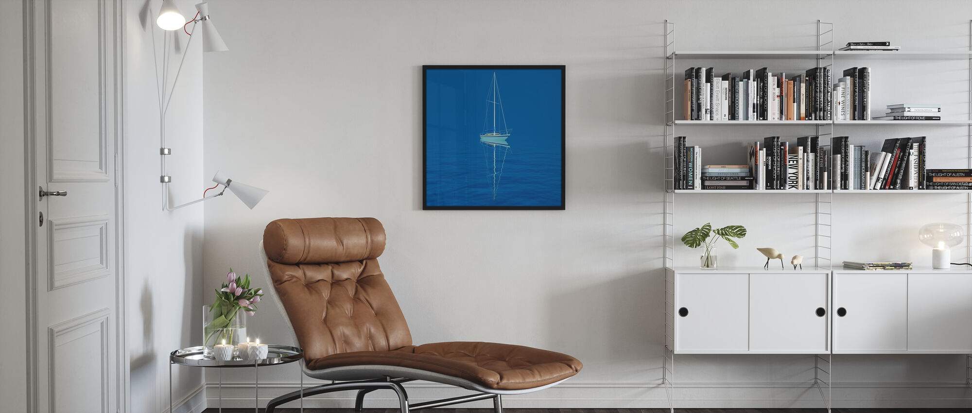 Blue Waters - Poster - Living Room
