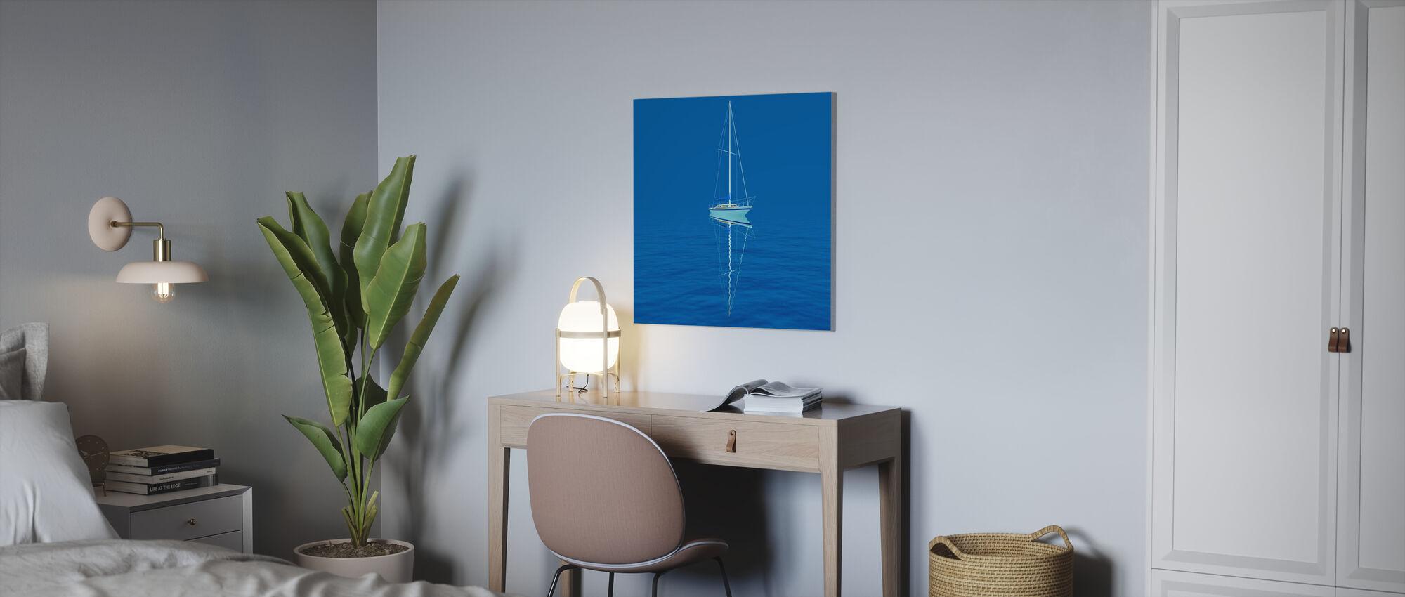 Siniset vedet - Canvastaulu - Toimisto