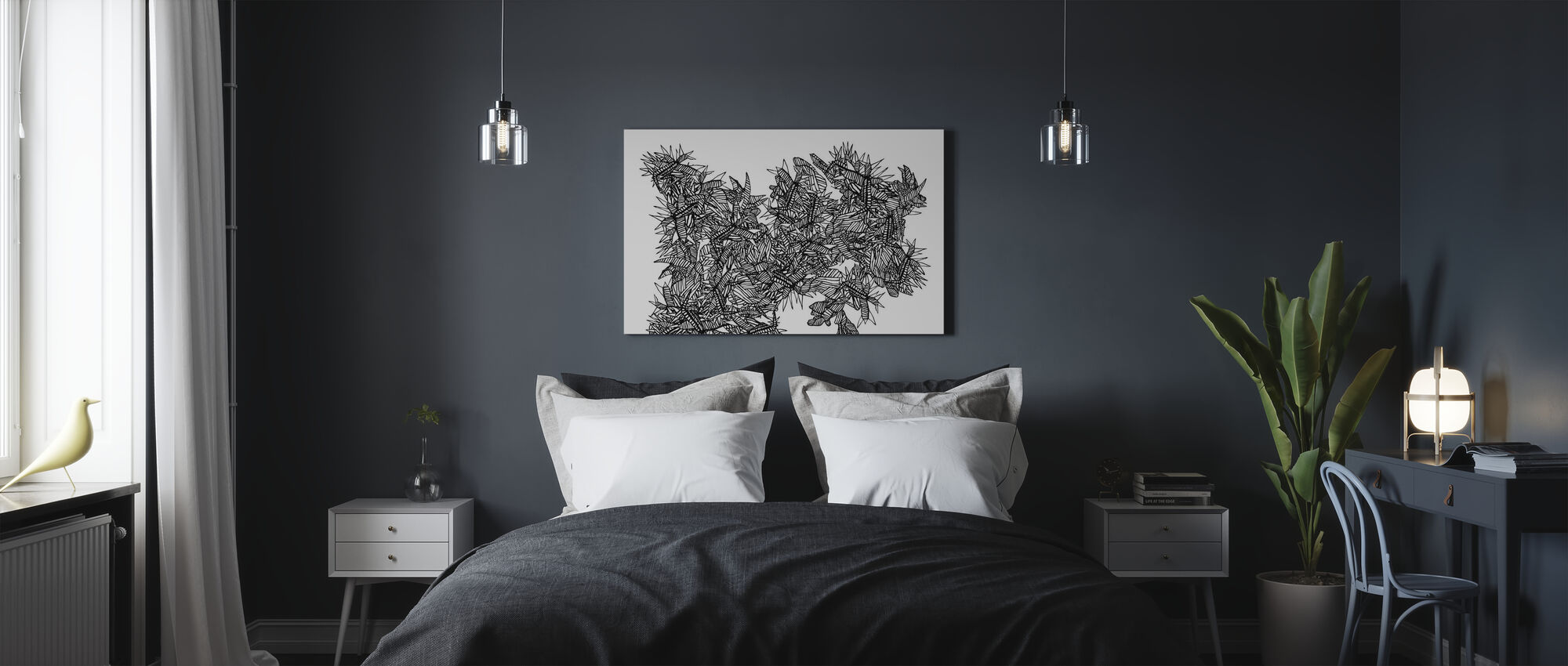 Cold Song - Canvas print - Bedroom