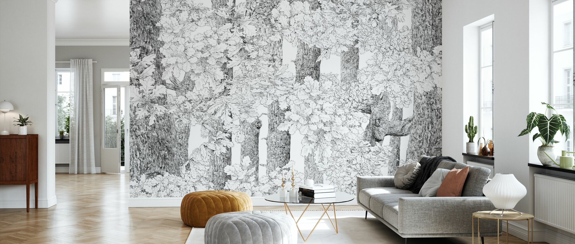 Core of Nature - Wallpaper - Living Room
