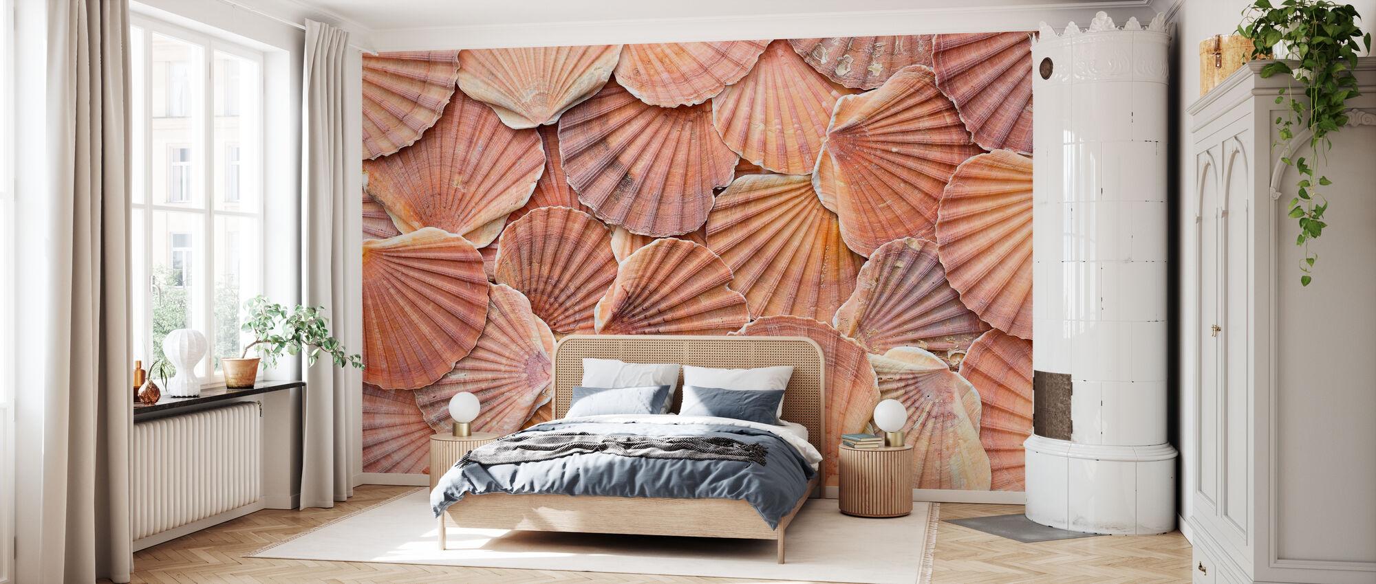 Scallops Mussla - Wallpaper - Bedroom