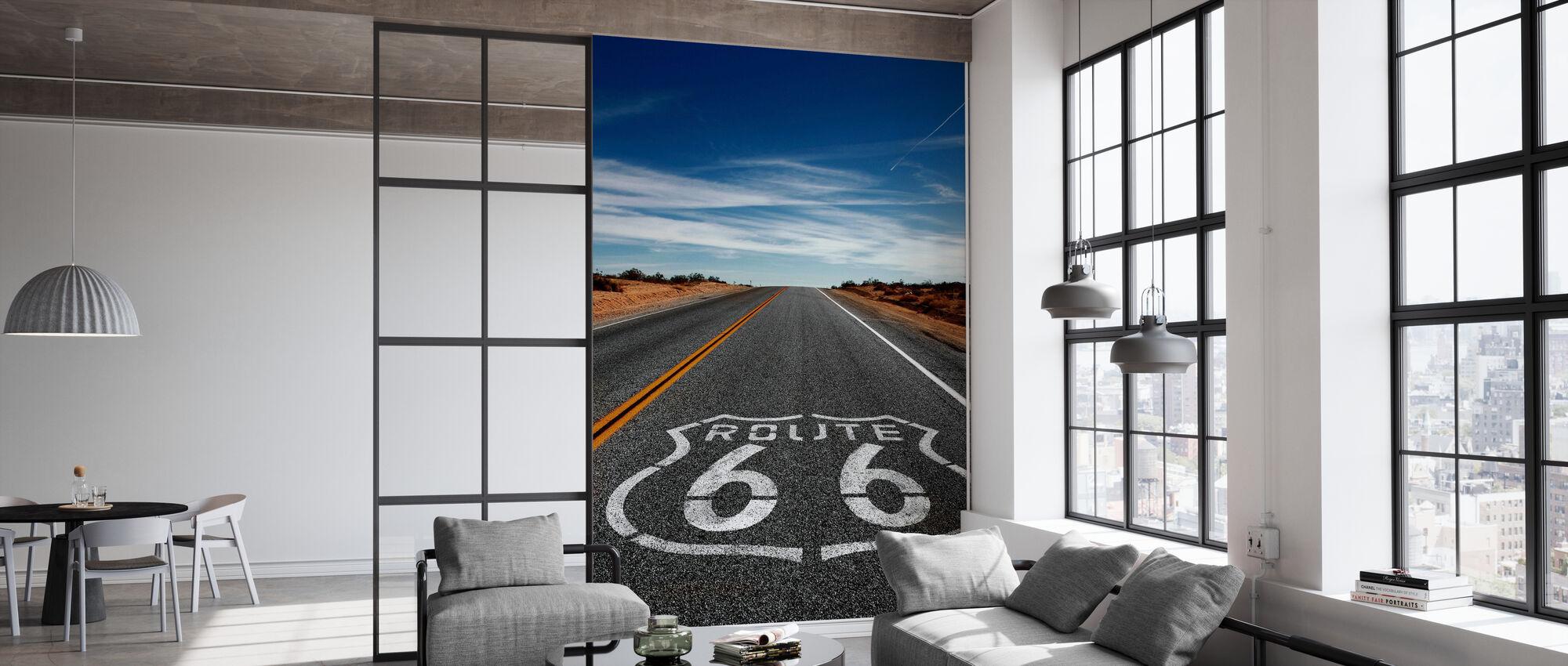 Route 66 Auf der Straße wieder - Tapete - Büro