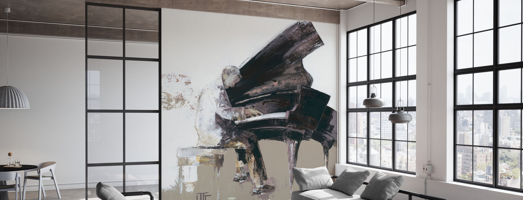 The Virtuose - Wallpaper - Office