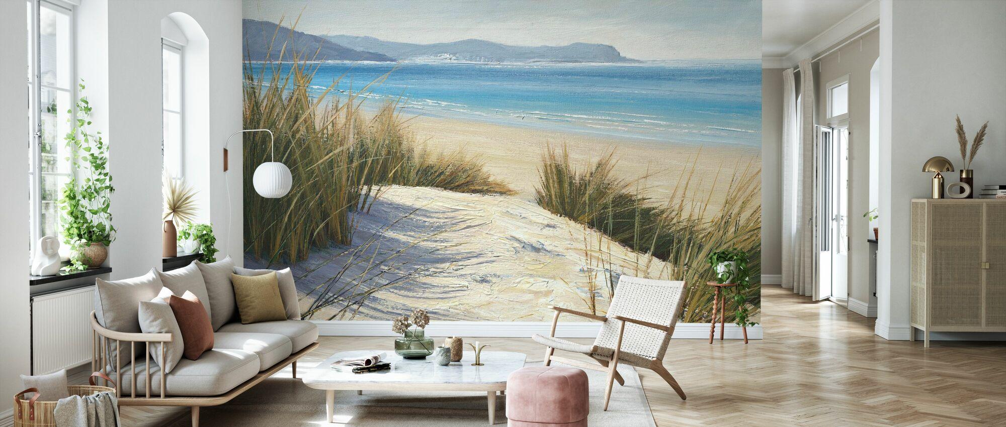 Ettermiddag sanddynene - Tapet - Stue
