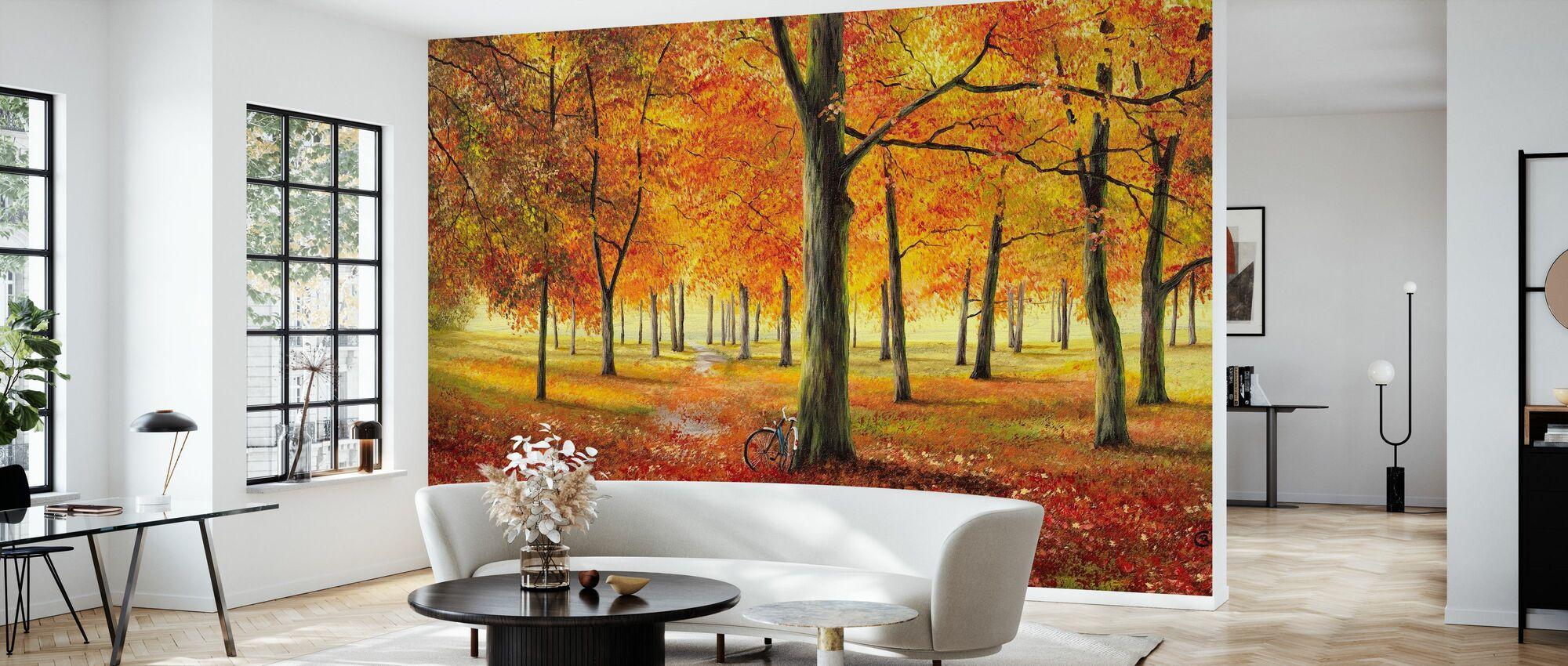 Herbstimpression - Tapet - Vardagsrum