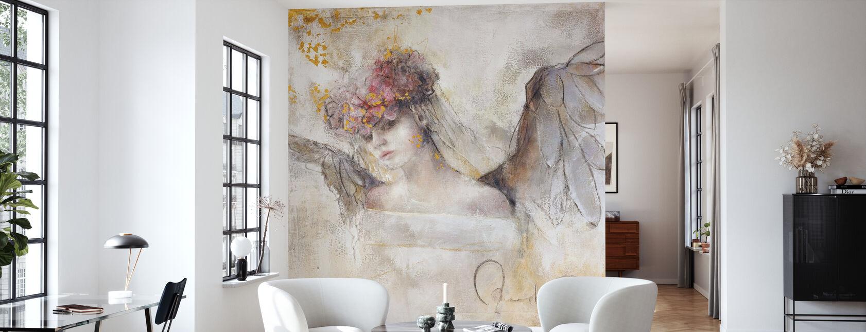 Flower angel - Wallpaper - Living Room