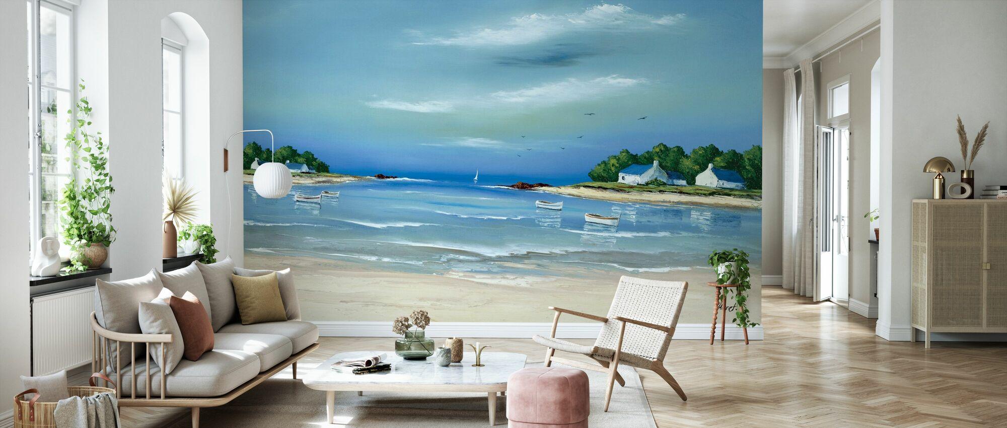 Côte Bretonne II - Wallpaper - Living Room
