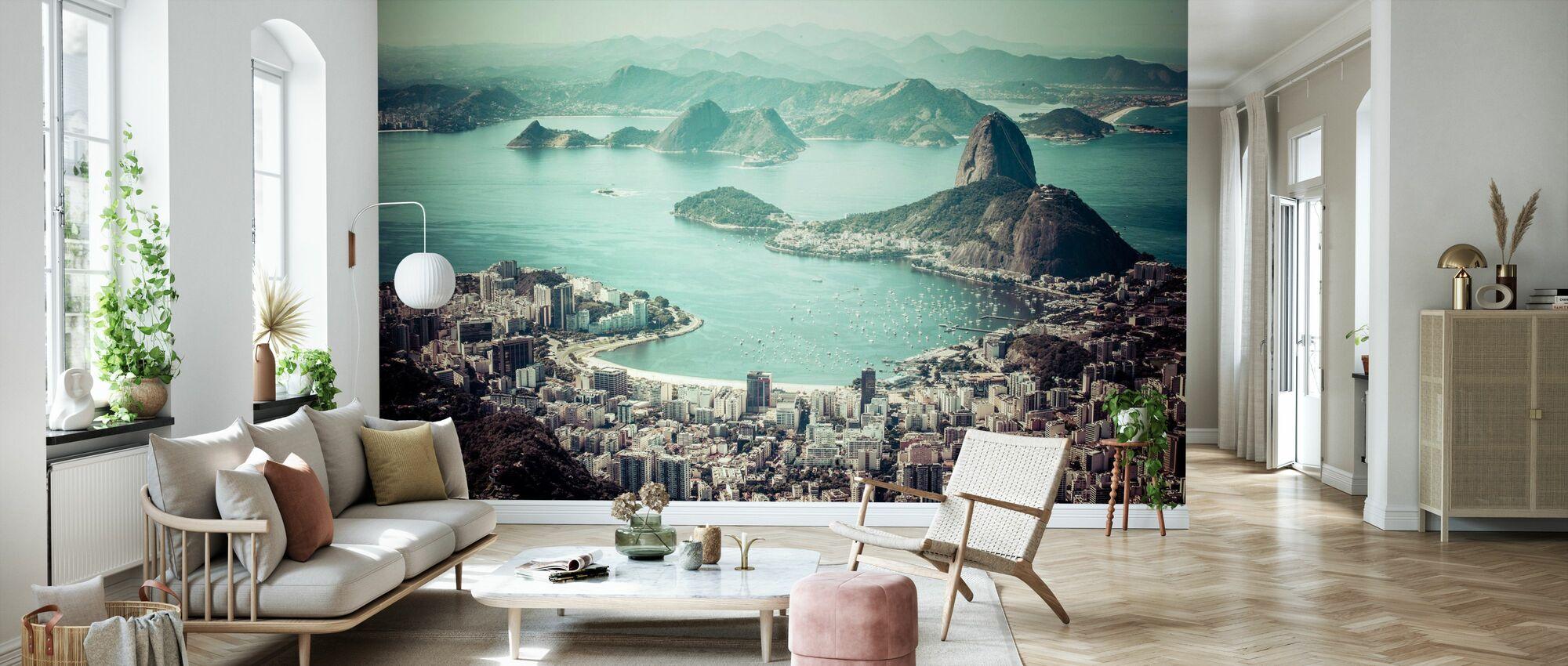 Rio de Janeiro - Zuckerhut - Tapete - Wohnzimmer