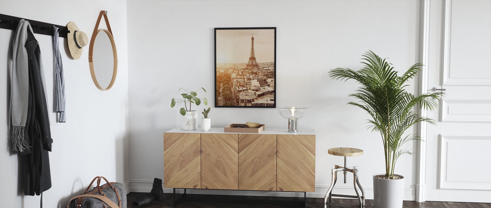 Paris - Eiffel Tower - Framed print - Hallway