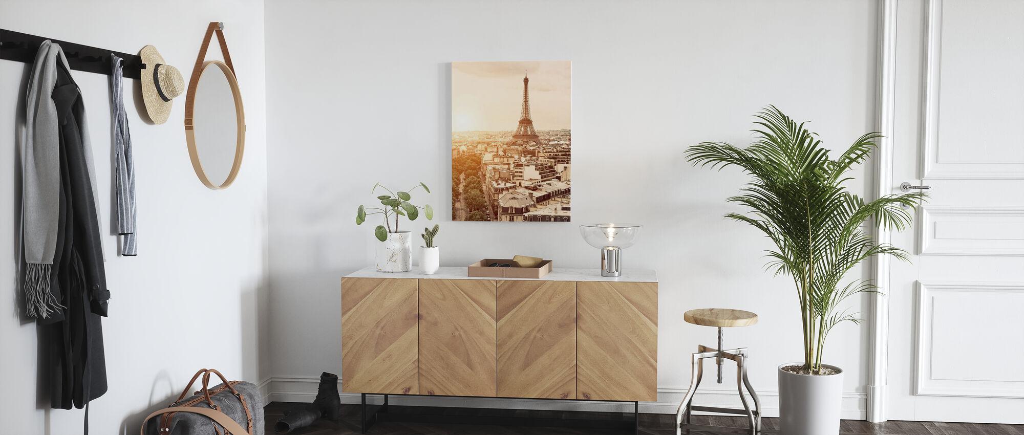 Paris - Eiffel Tower - Canvas print - Hallway