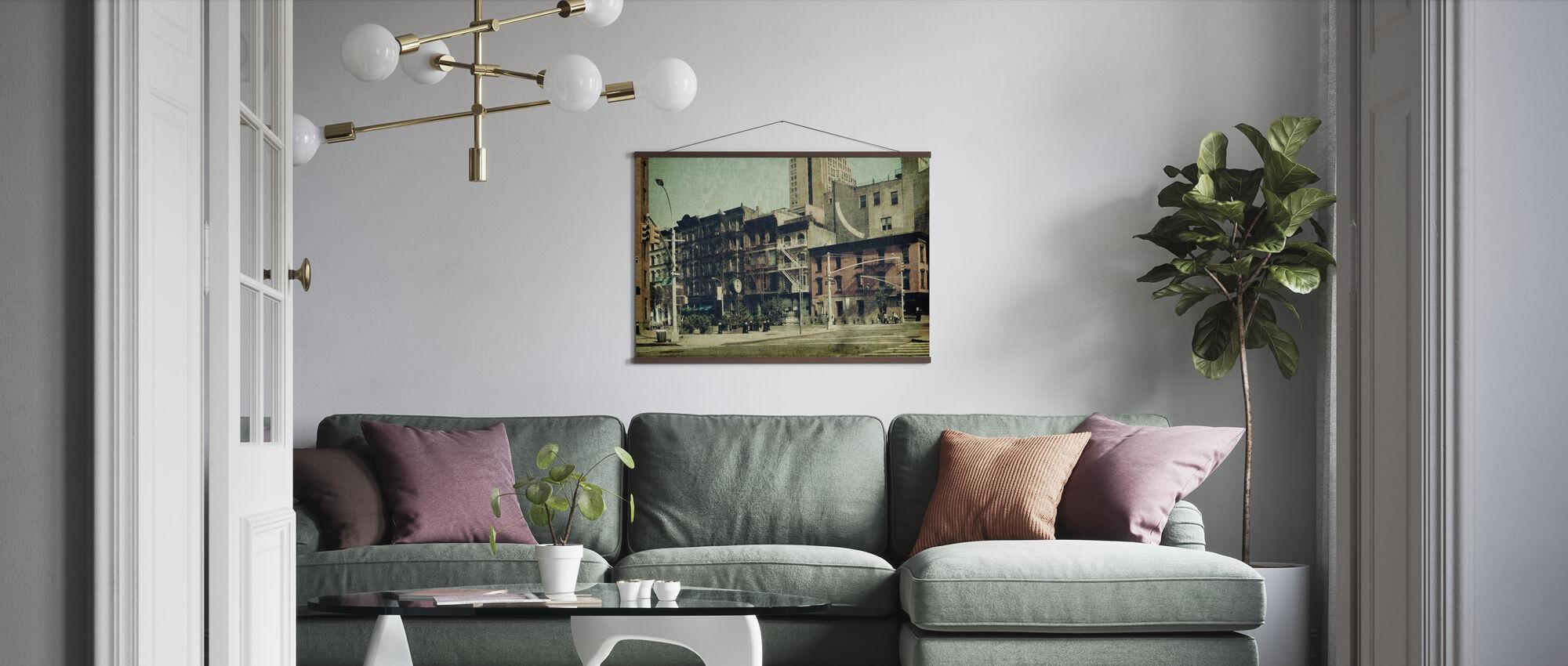 New York City - Sixth Avenue - Poster - Living Room