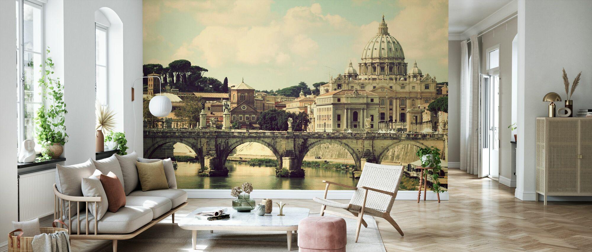 Roma - Sunny San Pietro - Papel pintado - Salón