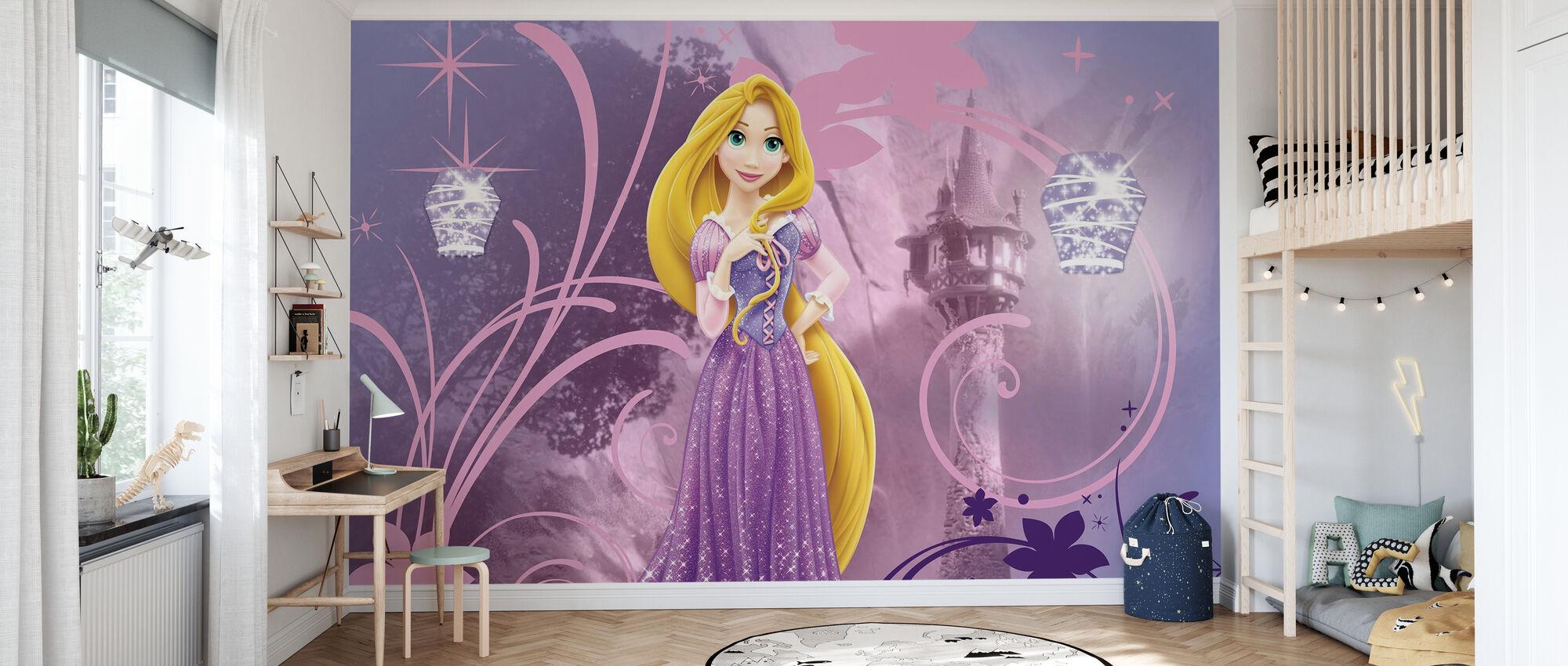 Disney Princess - Rapunzel - Tapet - Barnrum
