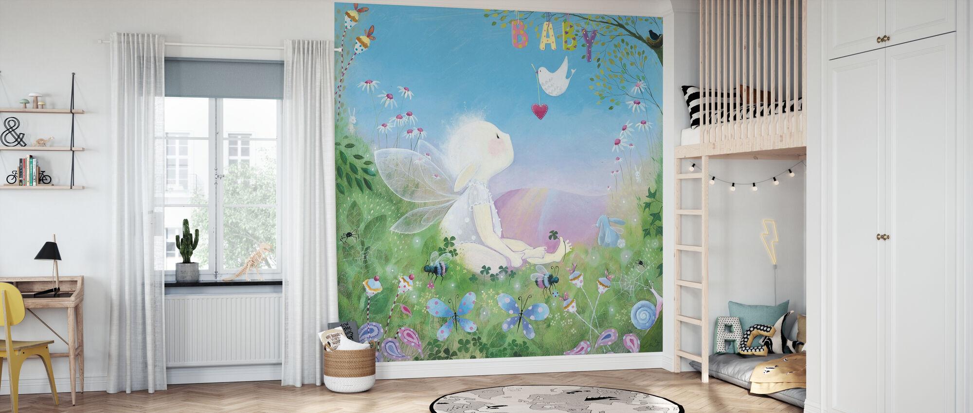 Baby - Wallpaper - Kids Room