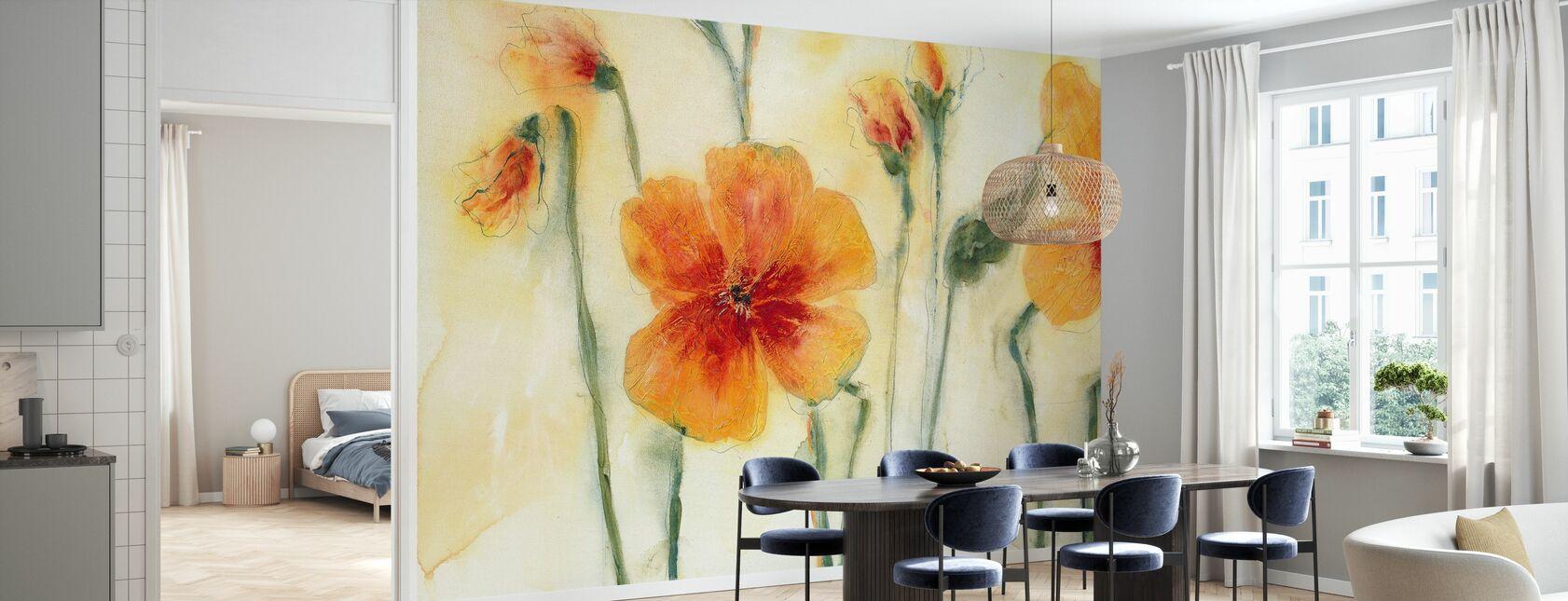 Orange Thoughts - Wallpaper - Kitchen