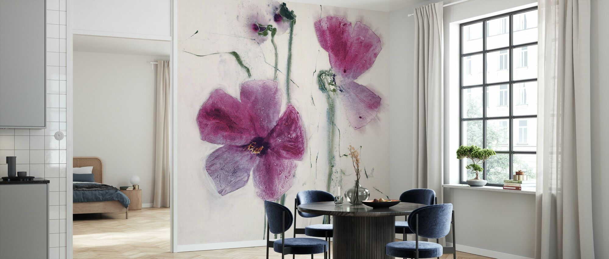 The Purple Thoughts - Wallpaper - Kitchen