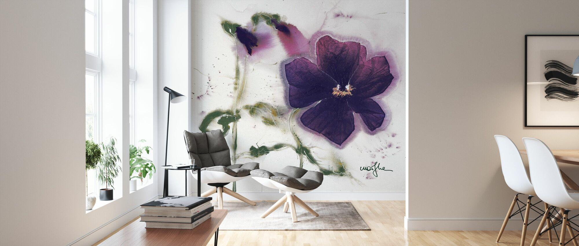 Thoughts V - Wallpaper - Living Room