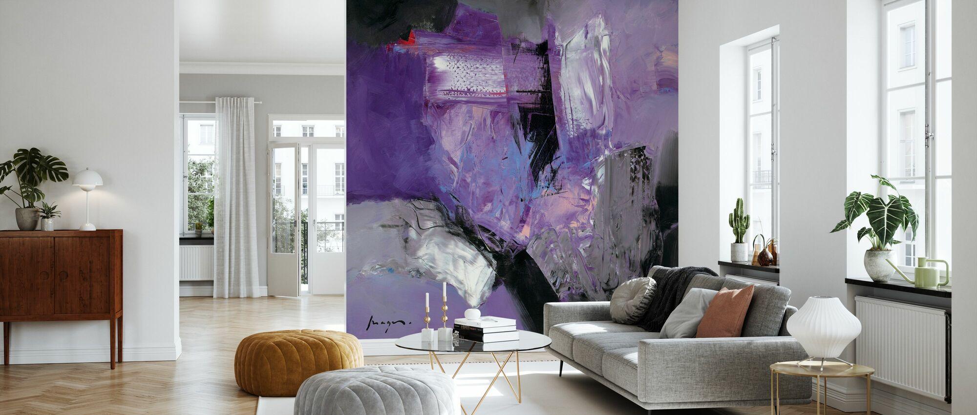 Abstract Variations - Wallpaper - Living Room