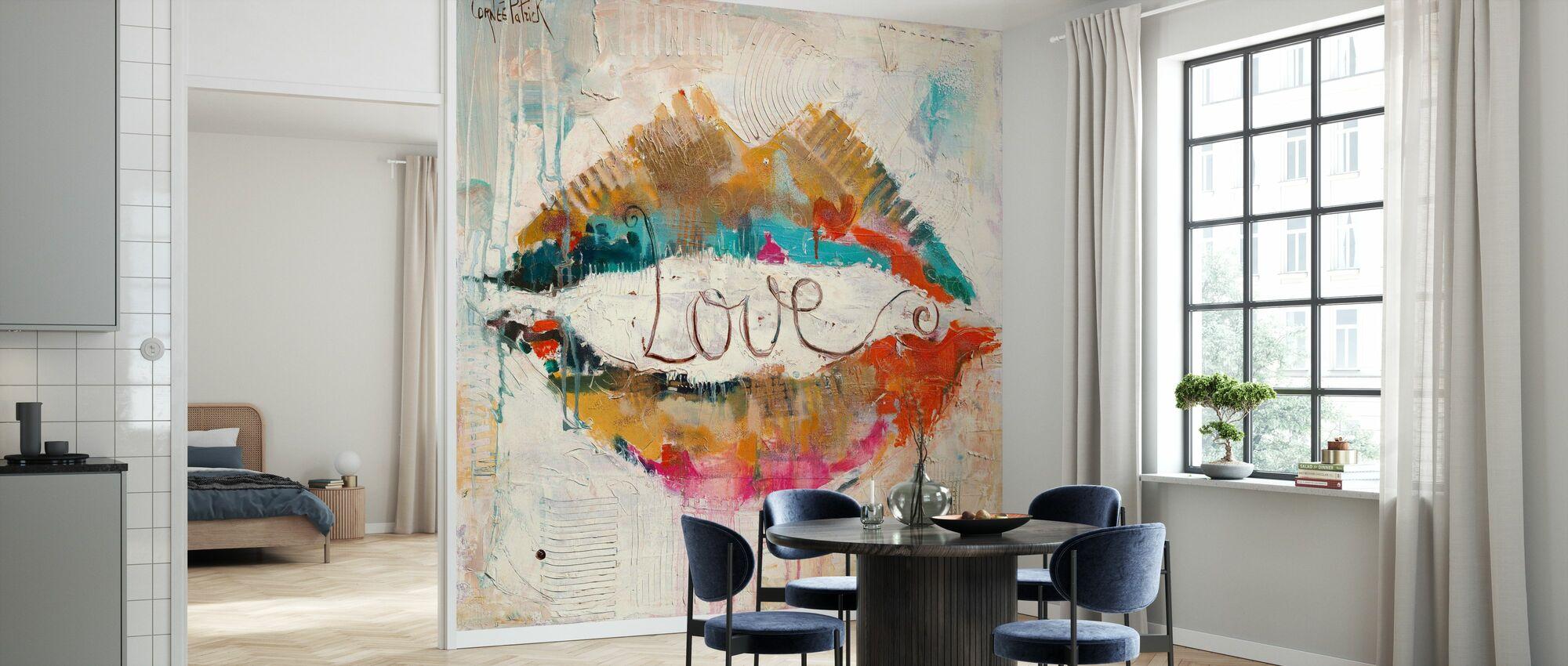 Love - Wallpaper - Kitchen