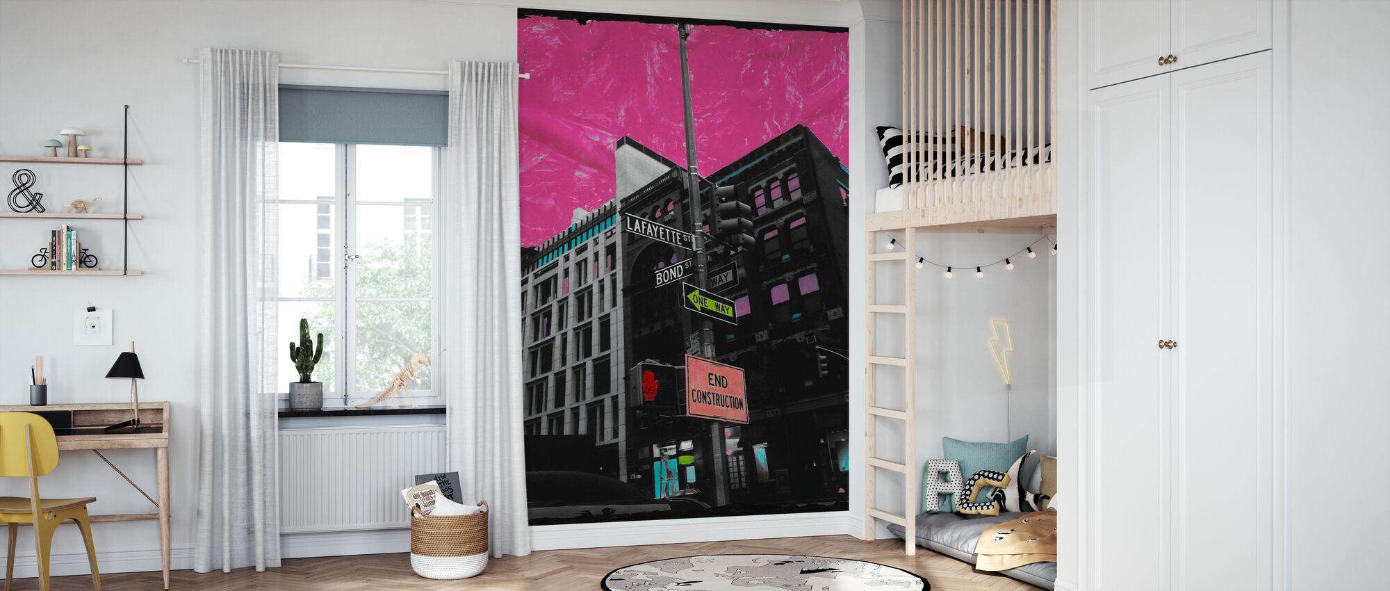 Lafayette - Wallpaper - Kids Room