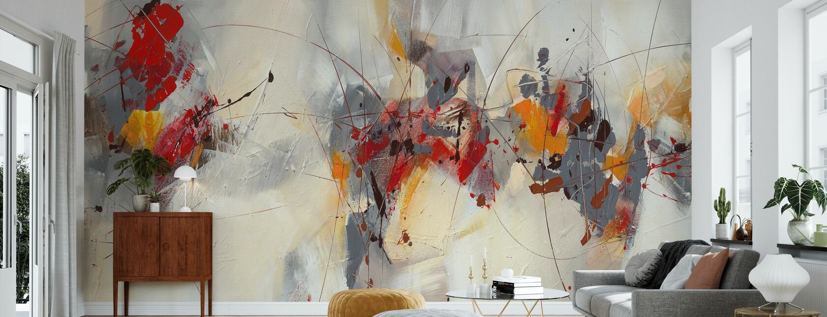 Percussion - Wallpaper - Living Room