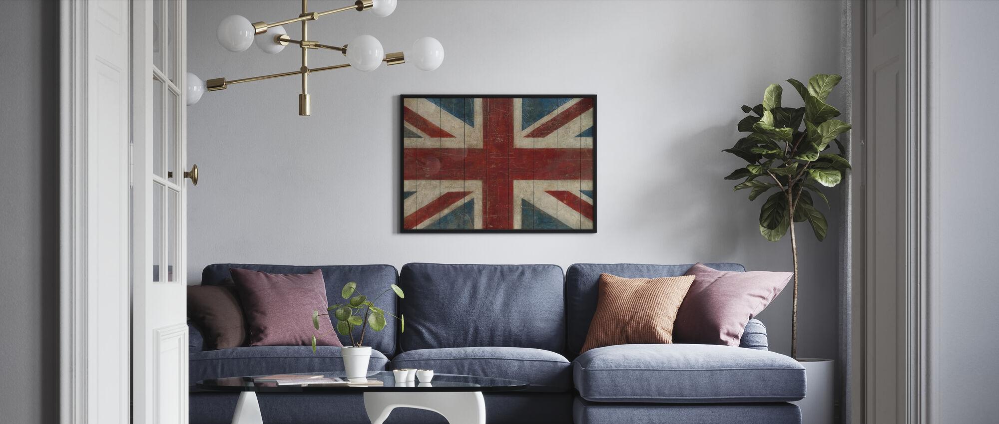 Avery Tillmon - Union Jack - Poster - Woonkamer
