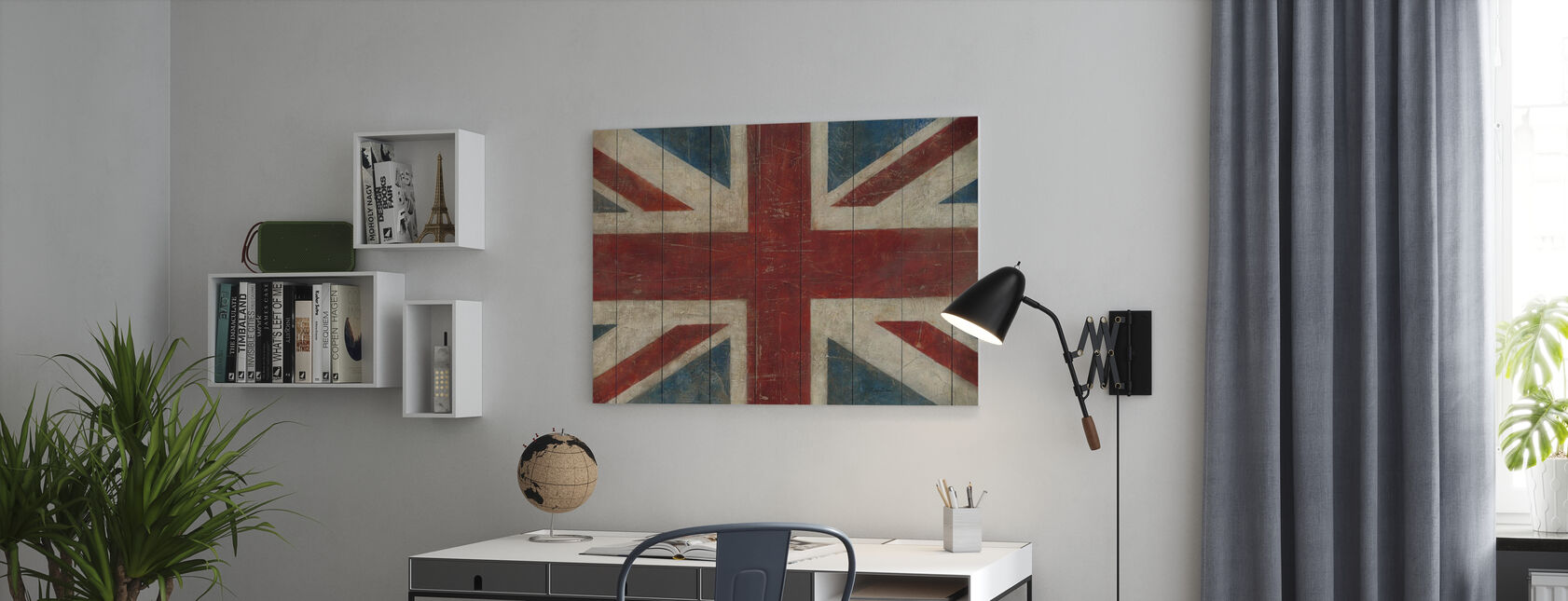 Avery Tillmon - Union Jack - Canvas print - Office