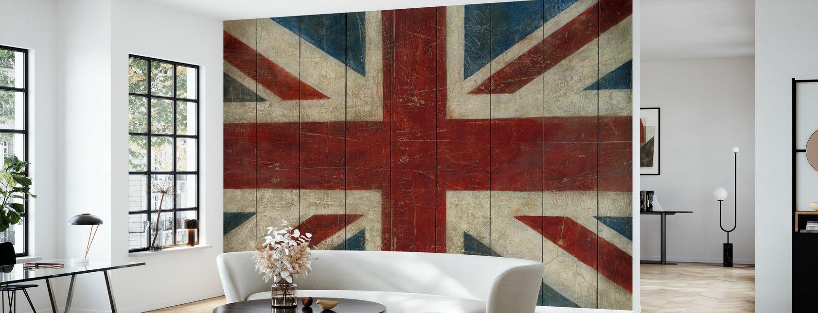 Avery Tillmon - Union Jack - Tapet - Stue
