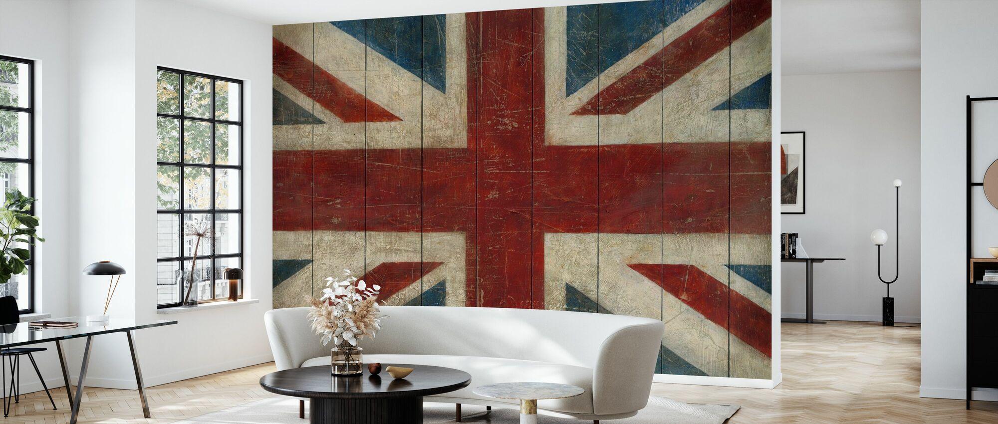Avery Tillmon - Union Jack - Tapetti - Olohuone
